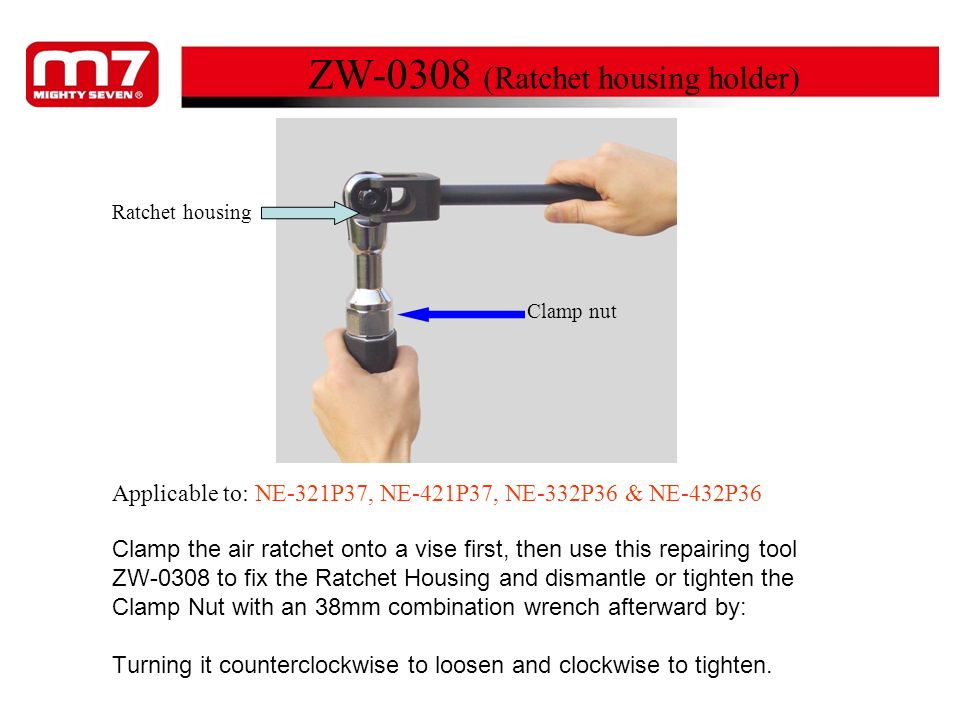 ZW-0308 (Ratchet housing holder)