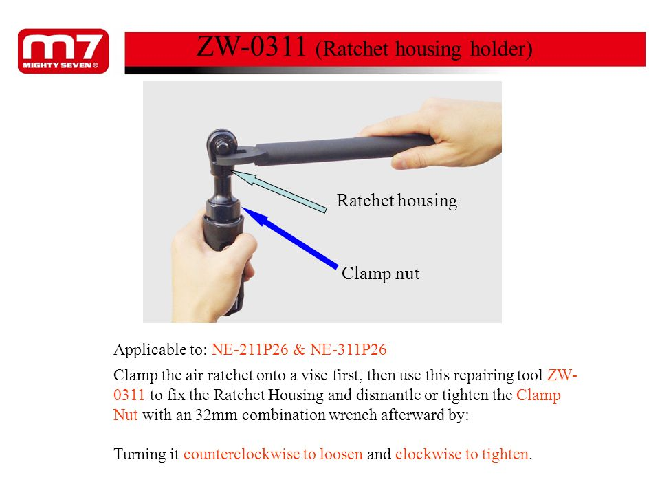 ZW-0311 (Ratchet housing holder)