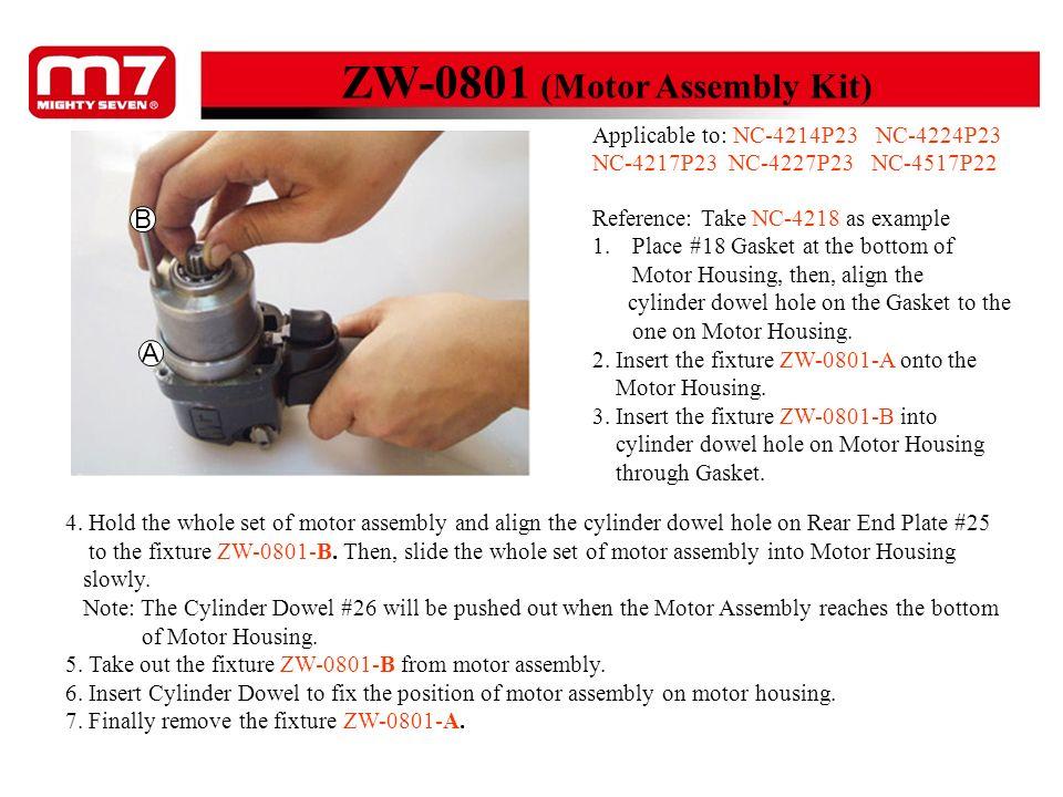 ZW-0801 (Motor Assembly Kit)