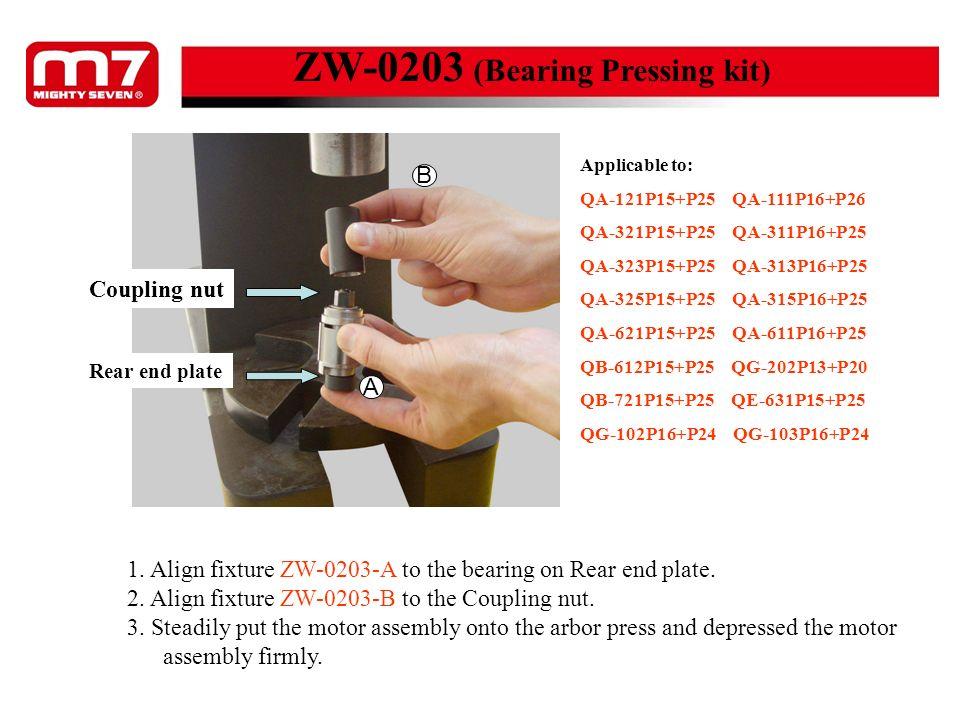 ZW-0203 (Bearing Pressing kit)