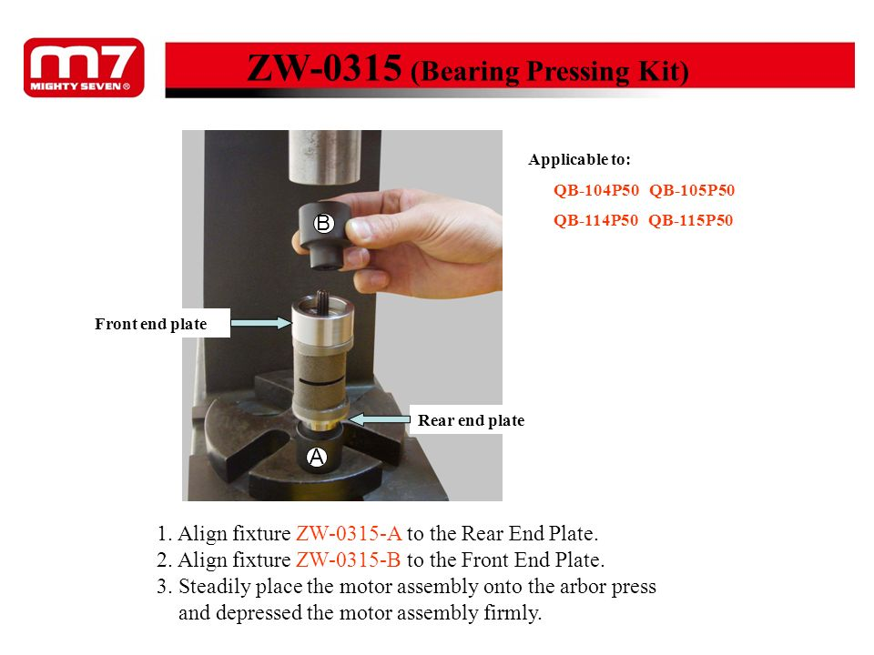ZW-0315 (Bearing Pressing Kit)