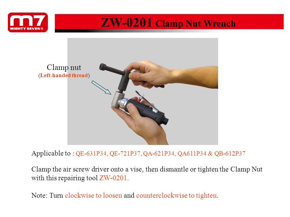 ZW-0201 Clamp Nut Wrench Clamp nut