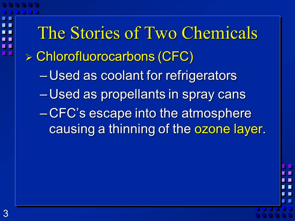 The Stories of Two Chemicals