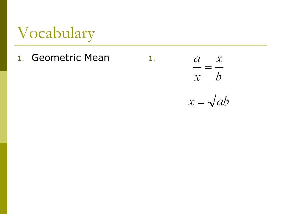 Vocabulary Geometric Mean