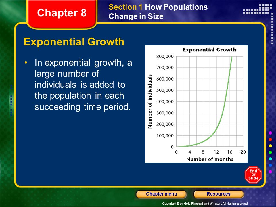 Chapter 8 Exponential Growth