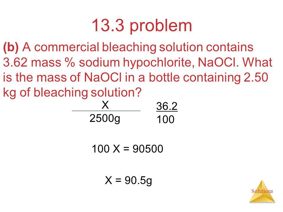 13.3 problem