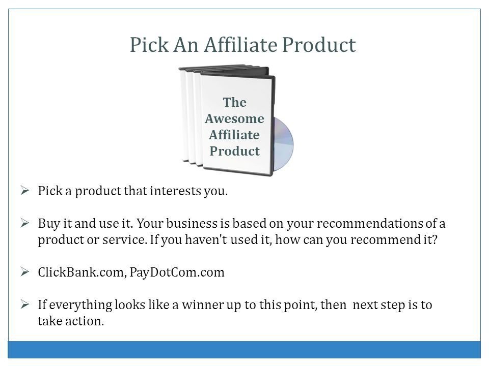 The Awesome Affiliate Product