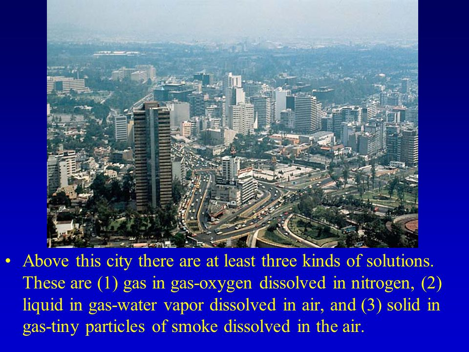 Above this city there are at least three kinds of solutions