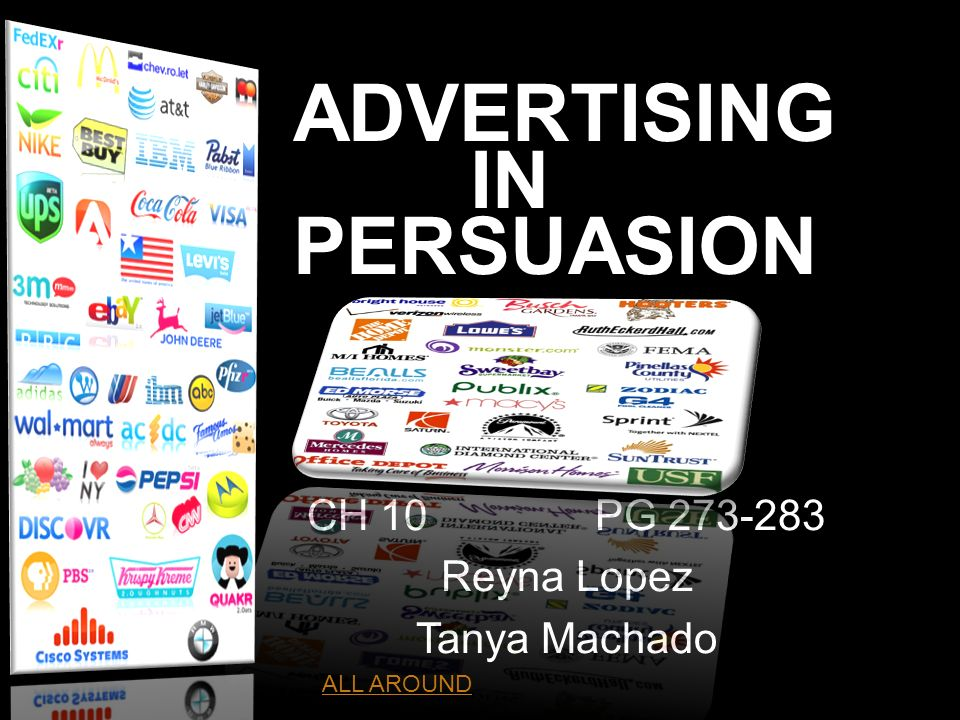 ADVERTISING IN PERSUASION