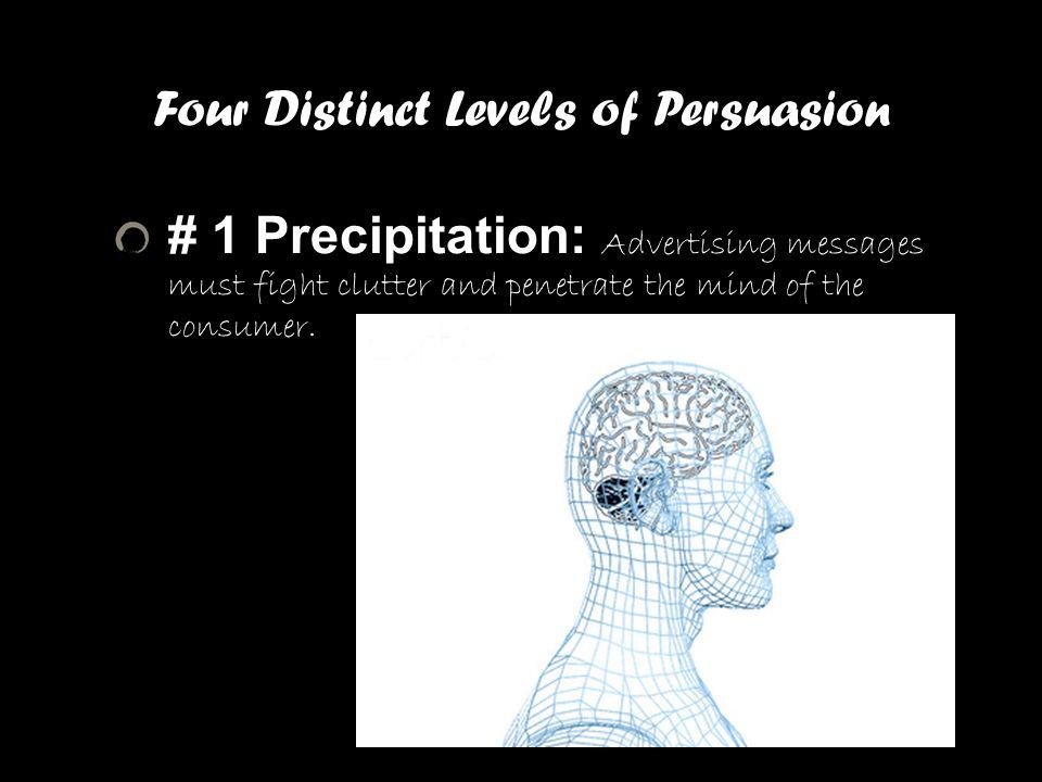 Four Distinct Levels of Persuasion