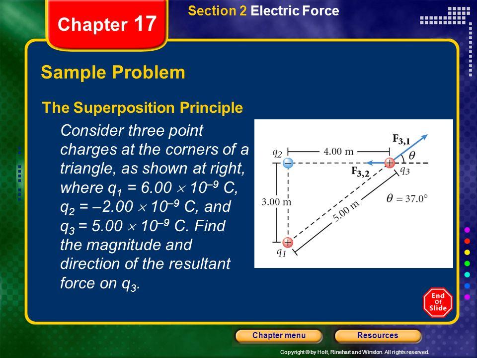 Chapter 17 Sample Problem