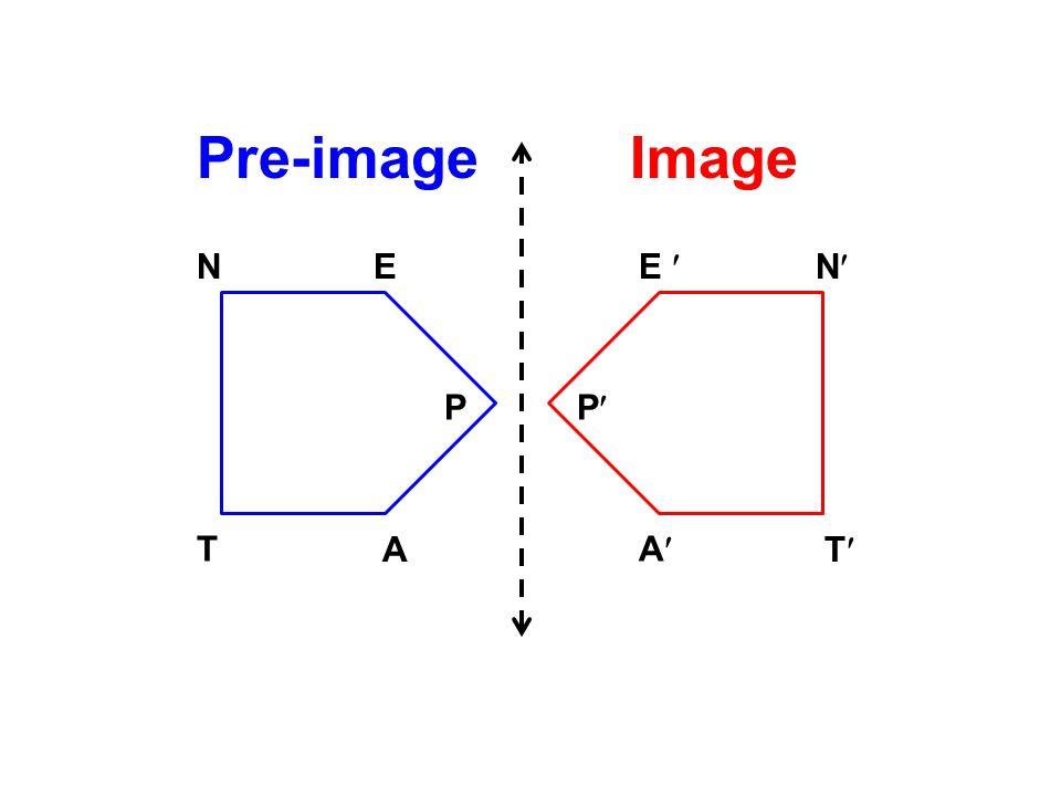 Pre-image Image N E E  N P P T A A T