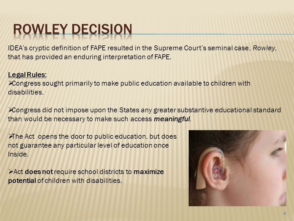 Rowley Decision
