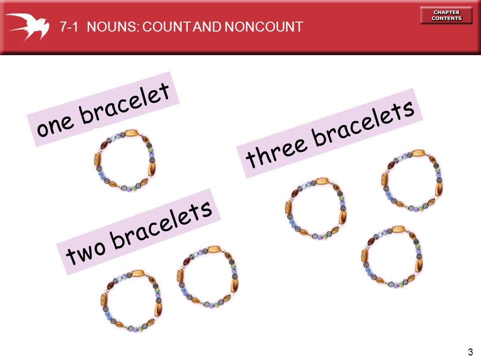 one bracelet three bracelets two bracelets