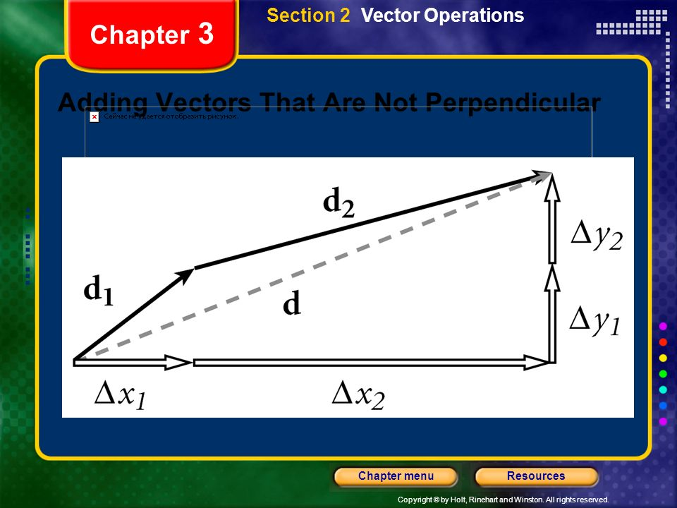 Adding Vectors That Are Not Perpendicular