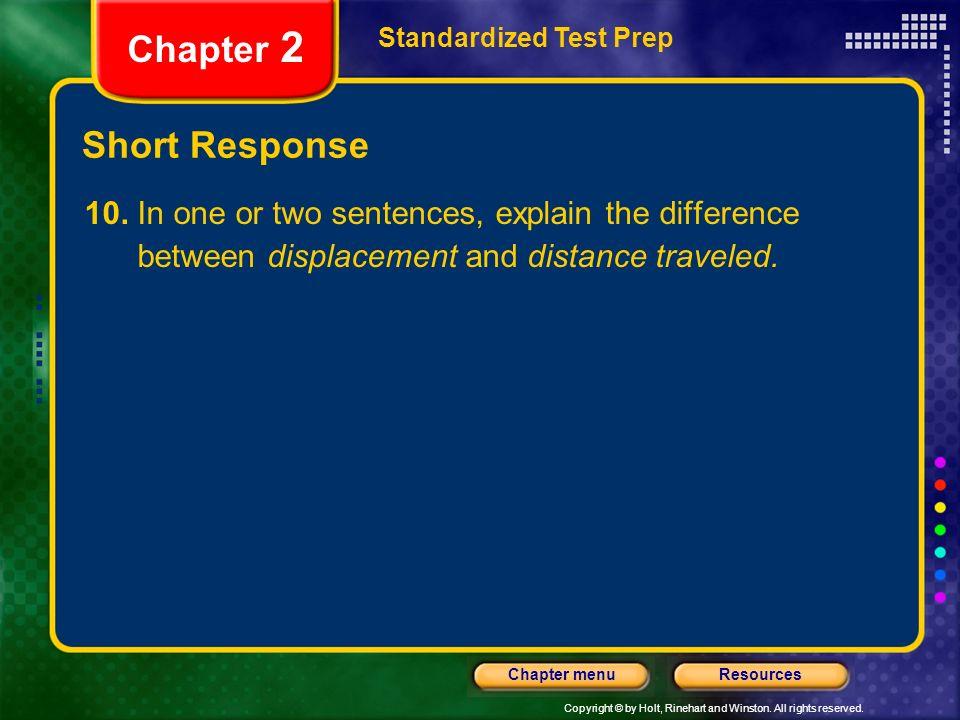Chapter 2 Short Response