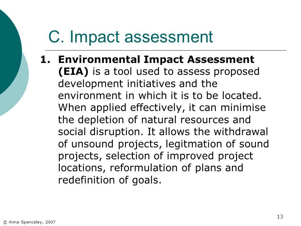 C. Impact assessment