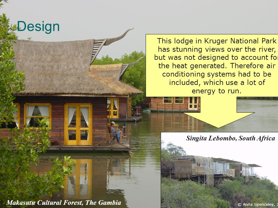 Design This lodge in Kruger National Park