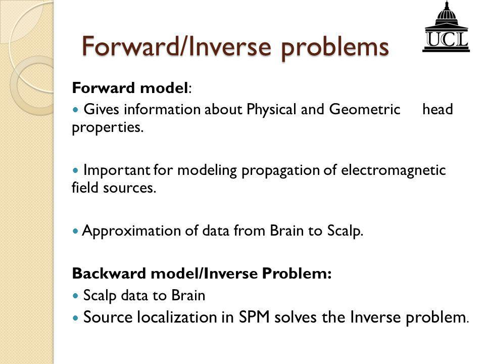 Forward/Inverse problems