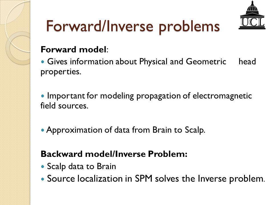 Forward/Inverse problems
