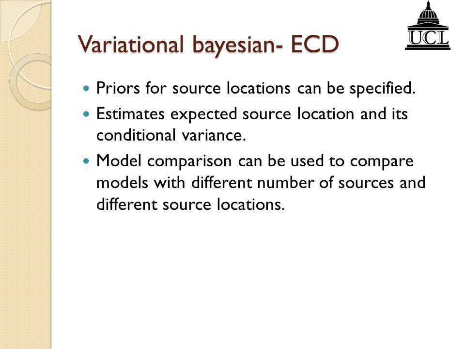 Variational bayesian- ECD