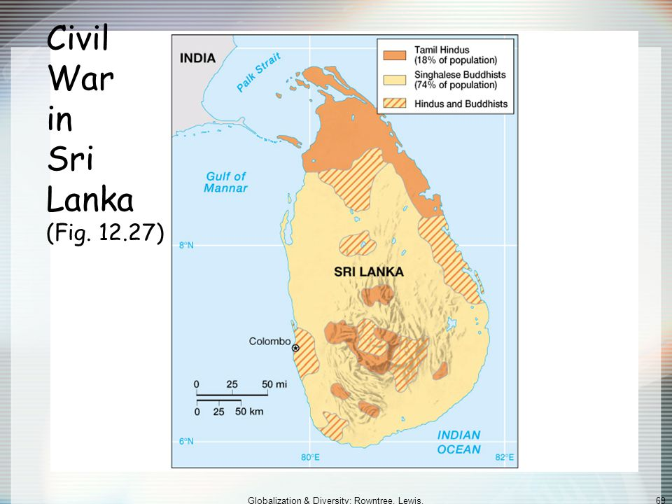 Civil War in Sri Lanka (Fig. 12.27)