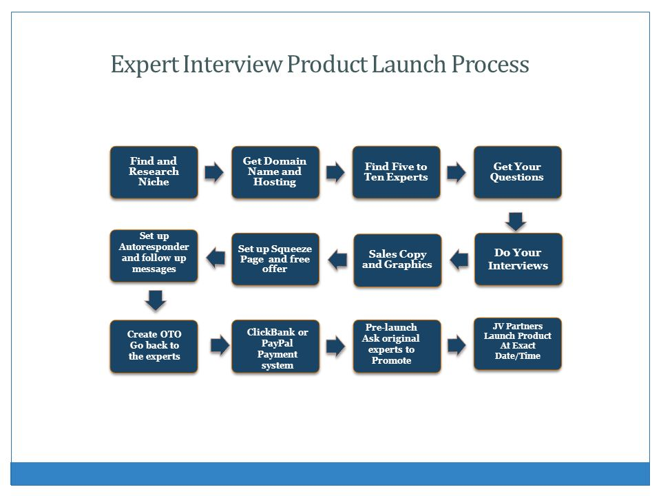 Expert Interview Product Launch Process