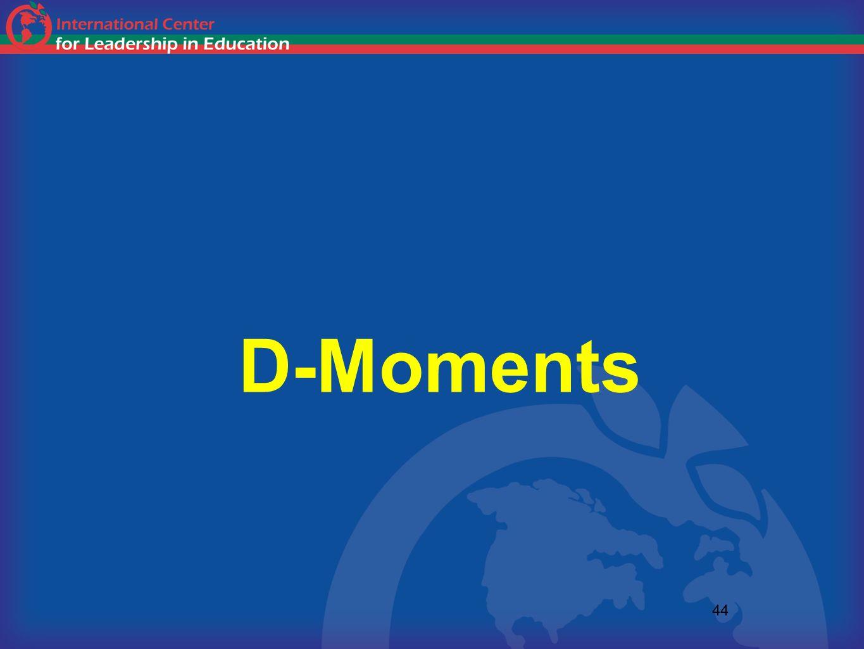 D-Moments