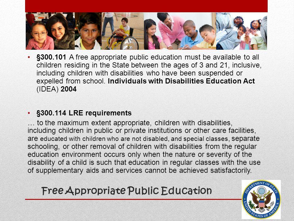 Free Appropriate Public Education