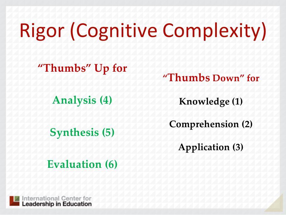 Rigor (Cognitive Complexity)