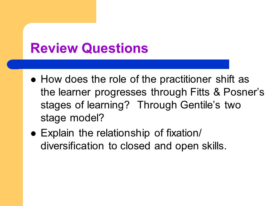 Discuss 'Fitts and Posner's' Phases of Learning Essay Sample