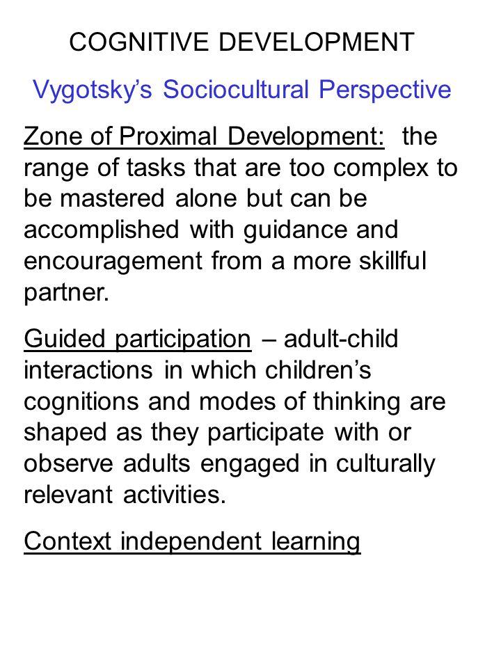 cognitive development  part 1