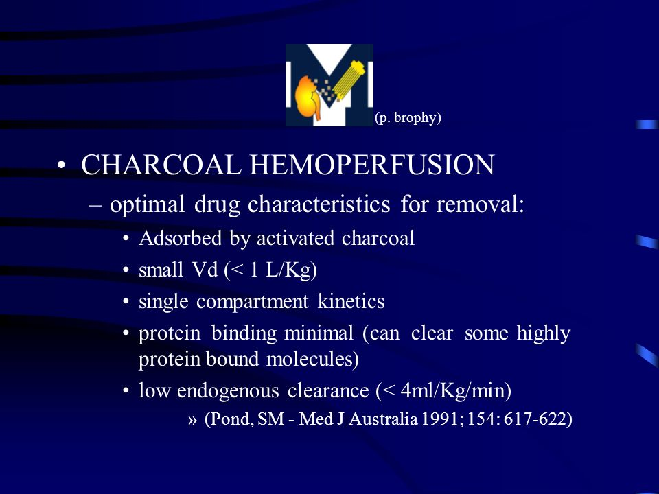 CHARCOAL HEMOPERFUSION