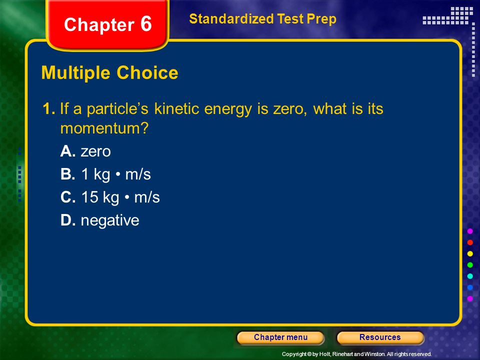 Chapter 6 Multiple Choice