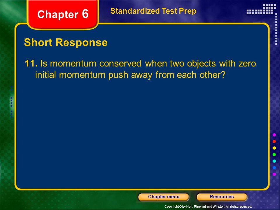 Chapter 6 Short Response