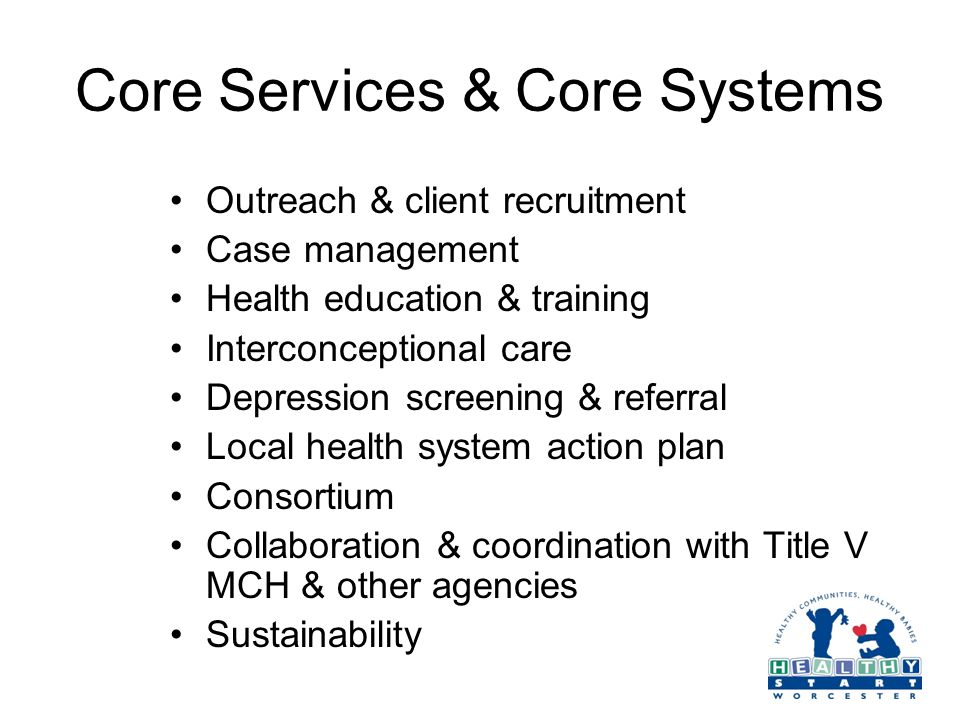 Core Services & Core Systems