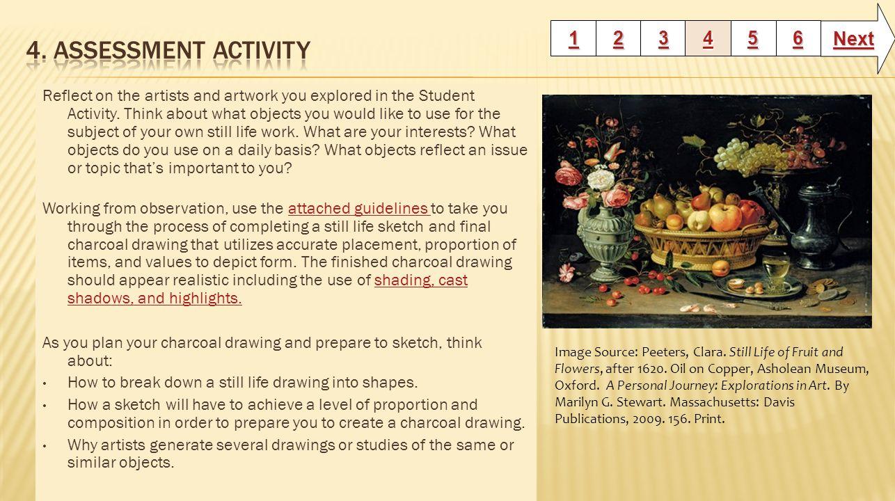 4. Assessment Activity Next 1 2 3 4 5 6