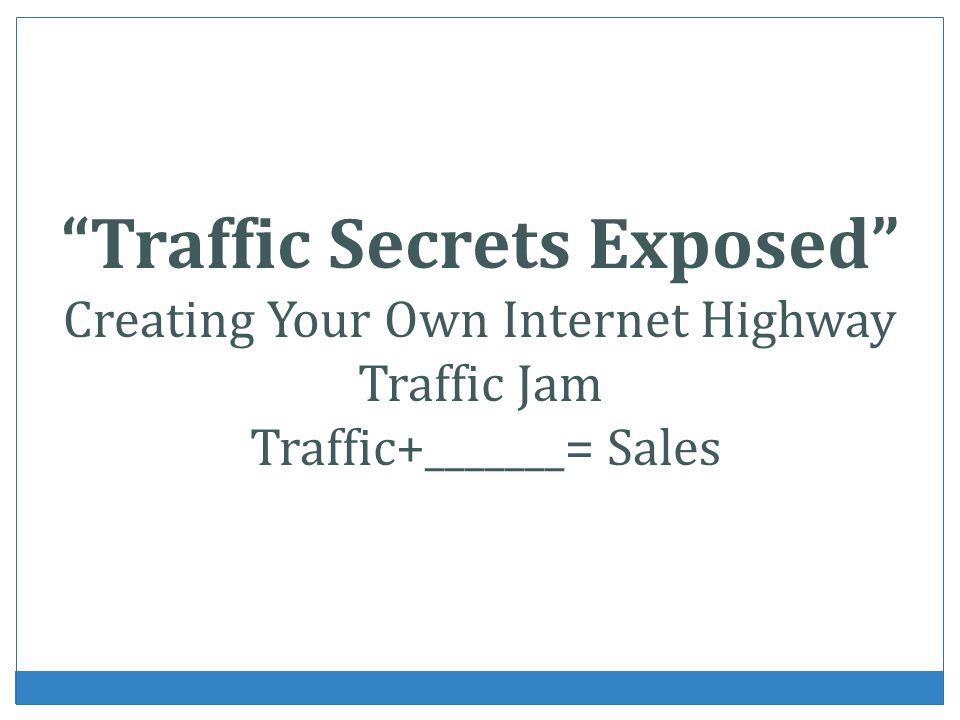Traffic Secrets Exposed