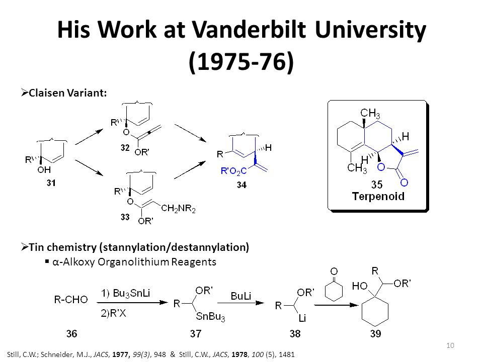 His Work at Vanderbilt University (1975-76)