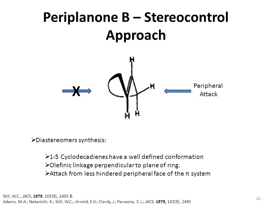 Periplanone B – Stereocontrol Approach