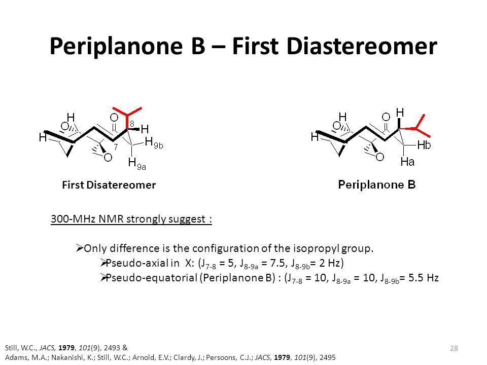 Periplanone B – First Diastereomer