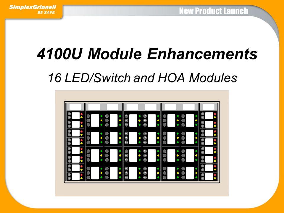 16 LED/Switch and HOA Modules