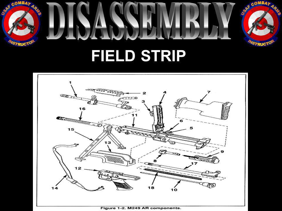 DISASSEMBLY FIELD STRIP
