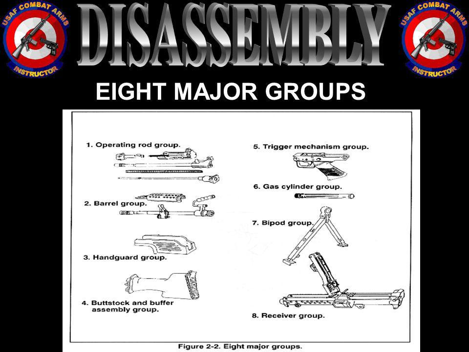 DISASSEMBLY EIGHT MAJOR GROUPS