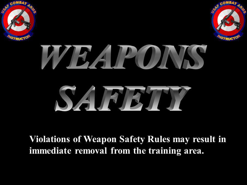 WEAPONS SAFETY.