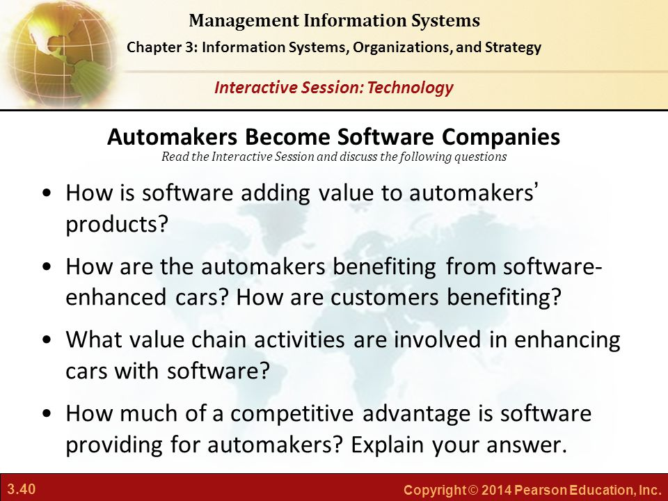 Automakers Become Software Companies