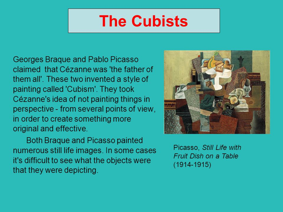 The Cubists