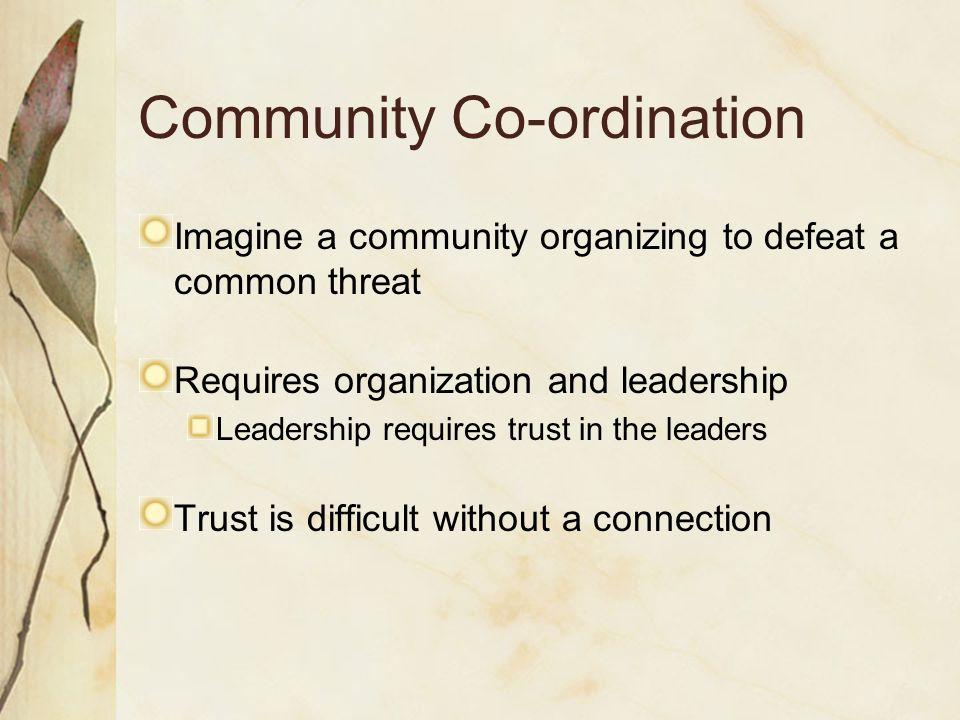 Community Co-ordination