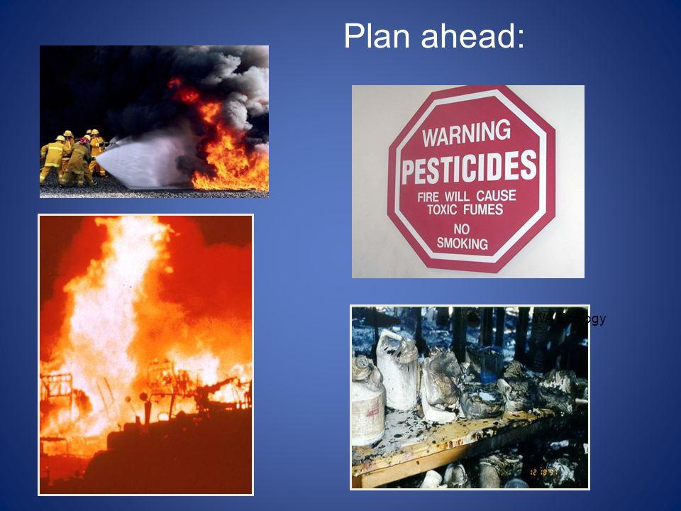 Plan ahead: WA Ecology