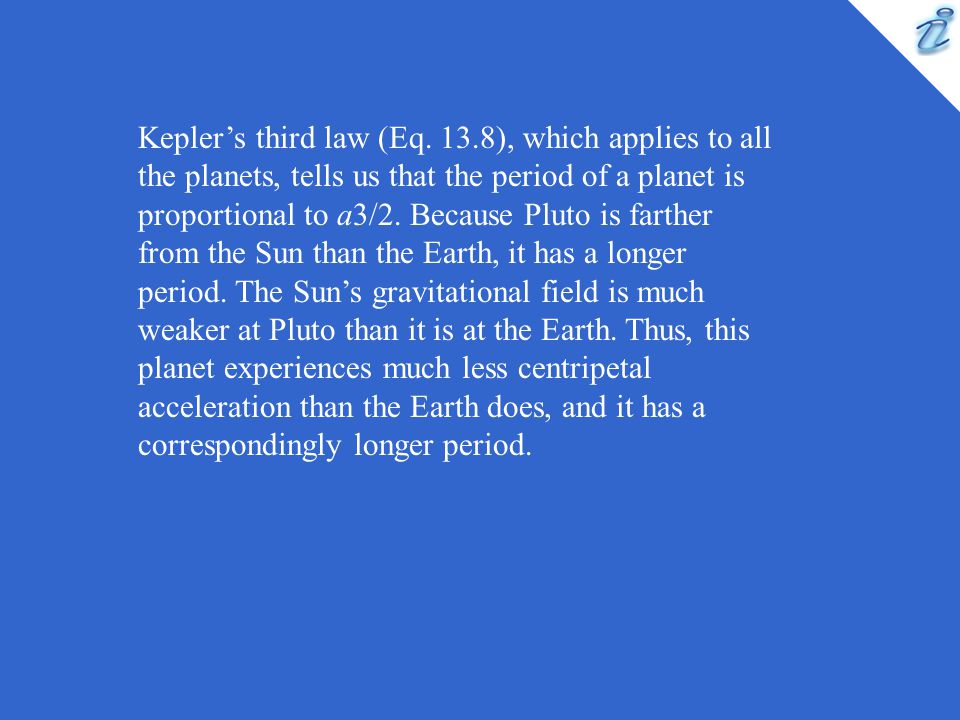 Kepler's third law (Eq.
